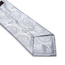 Load image into Gallery viewer, Trapani Paisley Woven Silk Tie