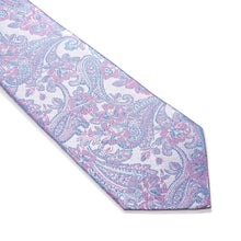 Load image into Gallery viewer, Matera Paisley Woven Silk Tie