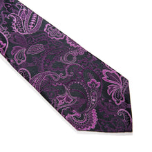 Load image into Gallery viewer, Olbia Paisley Woven Silk Tie