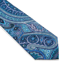 Load image into Gallery viewer, Manduria Paisley Woven Silk Tie
