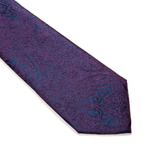 Load image into Gallery viewer, Nardò Paisley Woven Silk Tie