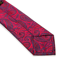 Load image into Gallery viewer, Perugia Paisley Woven Silk Tie