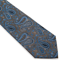 Load image into Gallery viewer, Messina Paisley Woven Silk Tie