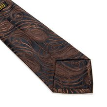 Load image into Gallery viewer, Schio Paisley Woven Silk Tie