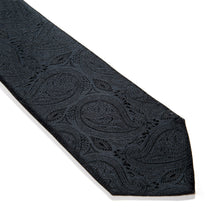 Load image into Gallery viewer, Rivoli Paisley Woven Silk Tie