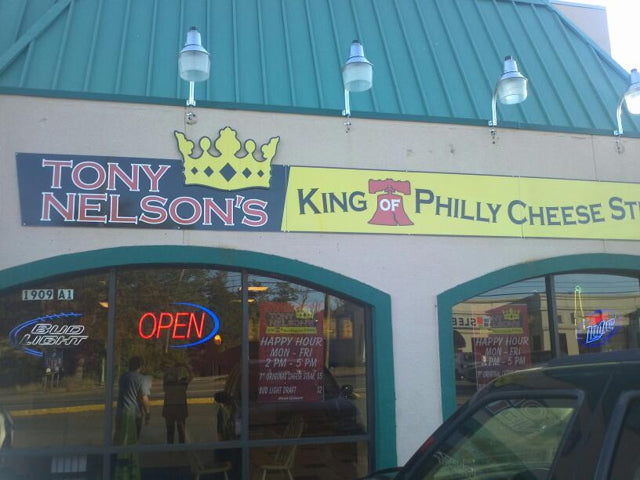 Tonynelson's King Of Philly Cheese Steaks