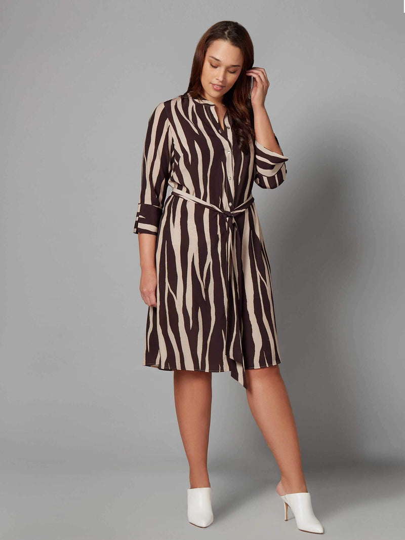 Animal Print Dress - Live Unlimited London