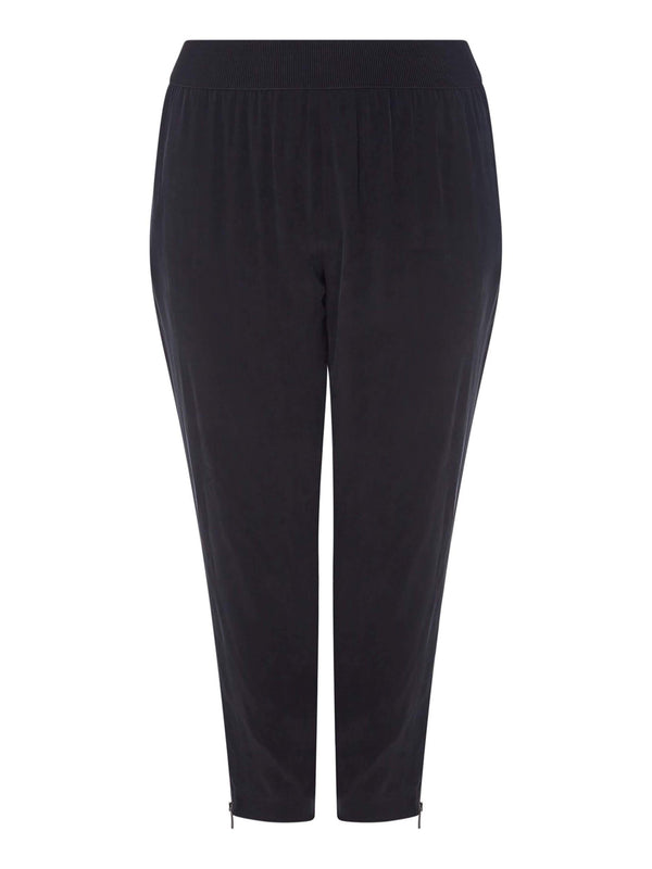Black Cupro Trouser