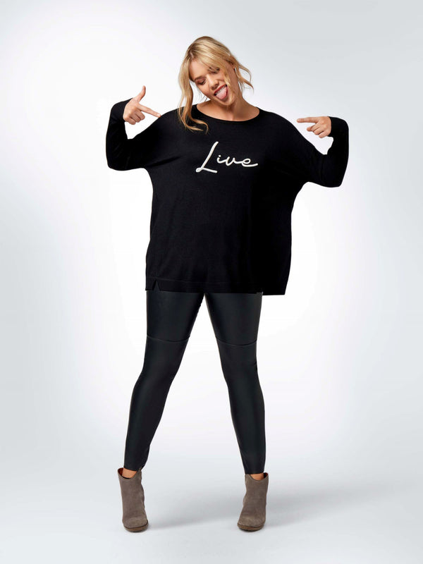 Live For The Weekend Jumper - Live Unlimited London