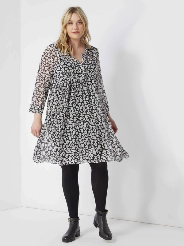 Ditsy Print Tiered Dress - Live Unlimited London