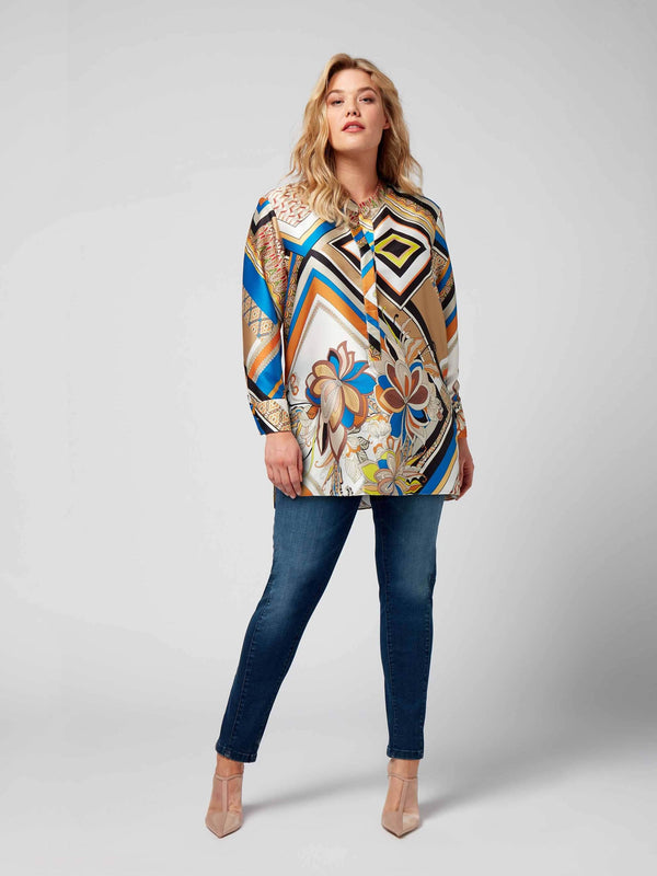 Cutabout Print Blouse