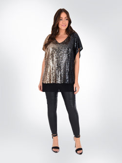 Sequin Ombre Top - Live Unlimited London