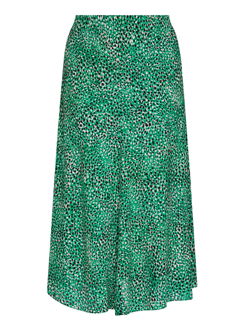 Printed Viscose Morrocain Bias Skirt - Live Unlimited London