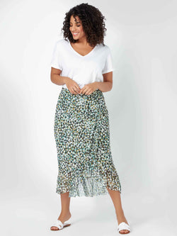 Mesh Wrap Skirt - Live Unlimited London