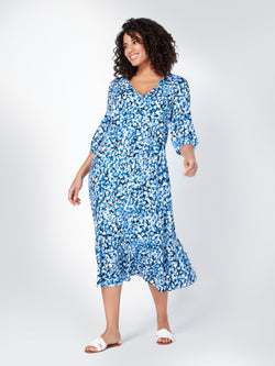 Tiered Smock Dress With Pockets - Live Unlimited London