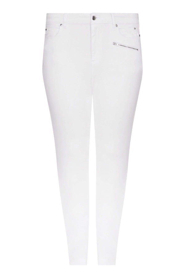 White Slim Leg Jean - Live Unlimited London