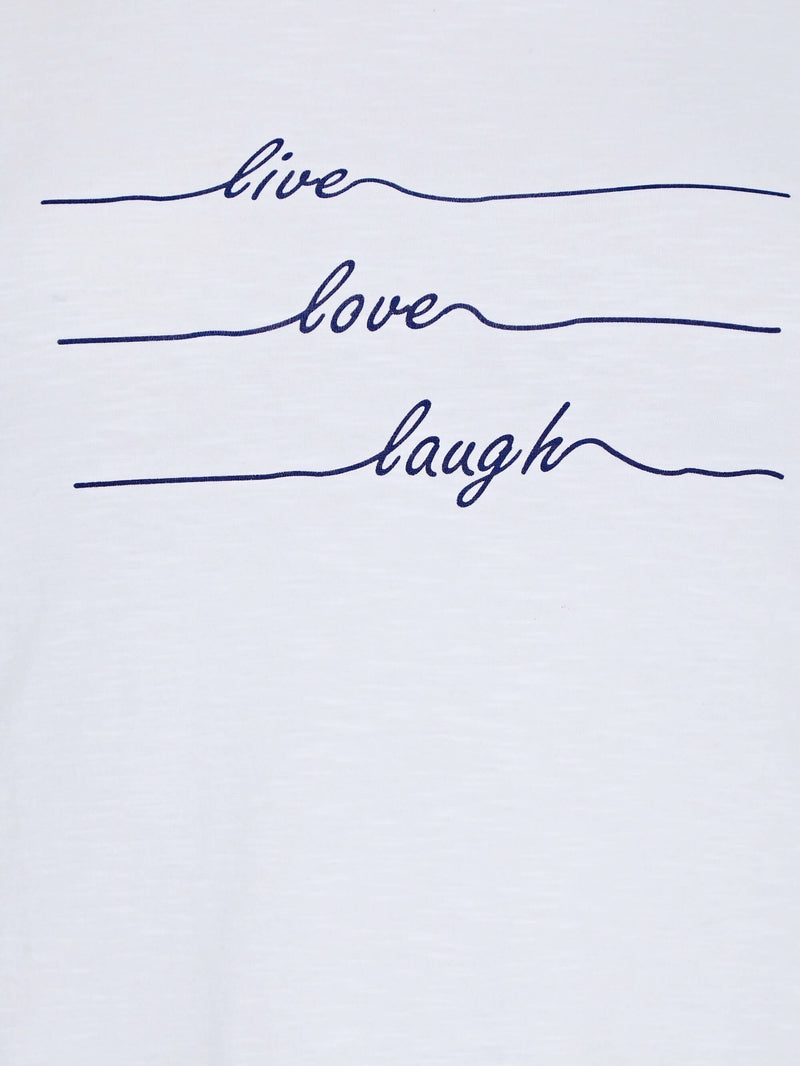 Live Love Laugh Slogan - Live Unlimited London