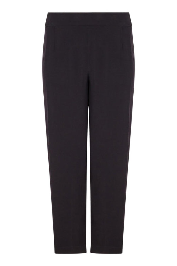 Satin Back Crepe Trouser - Live Unlimited London