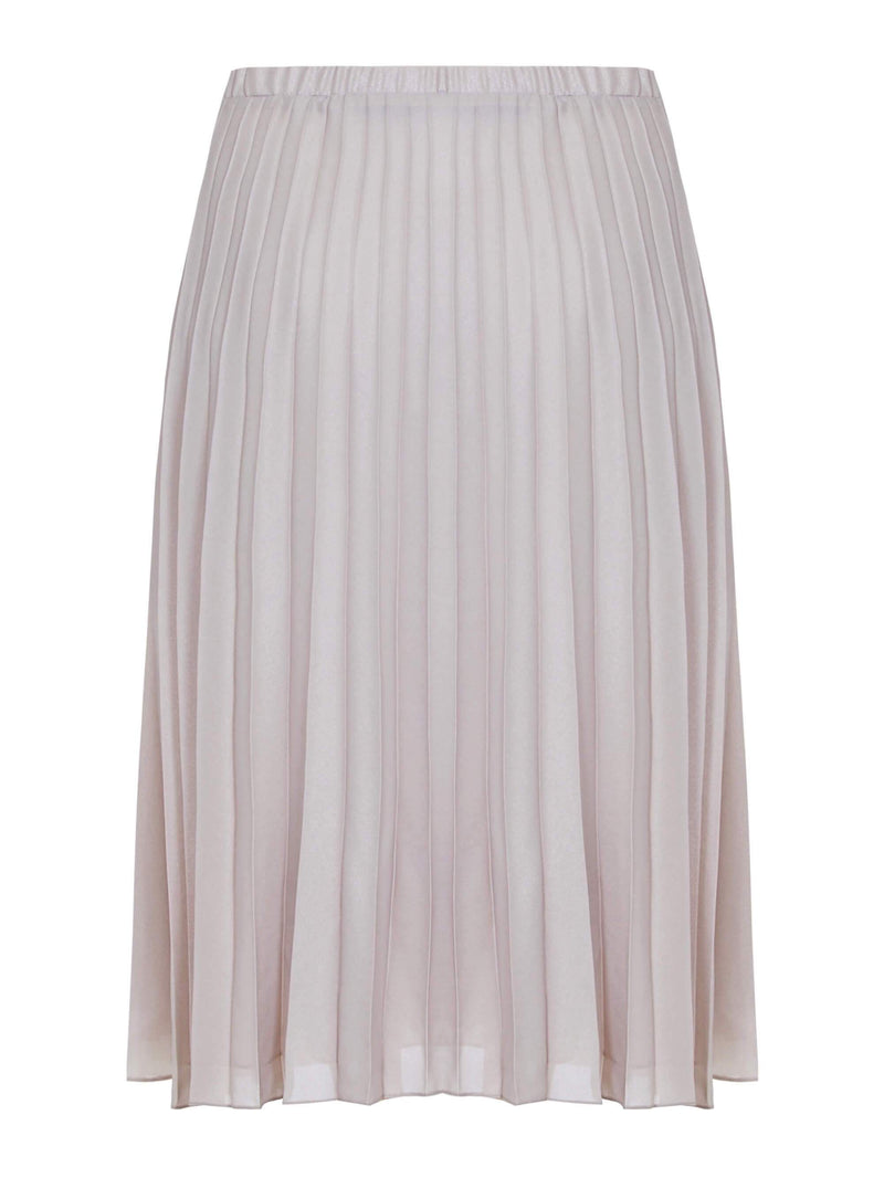Mink Pleated Skirt - Live Unlimited London