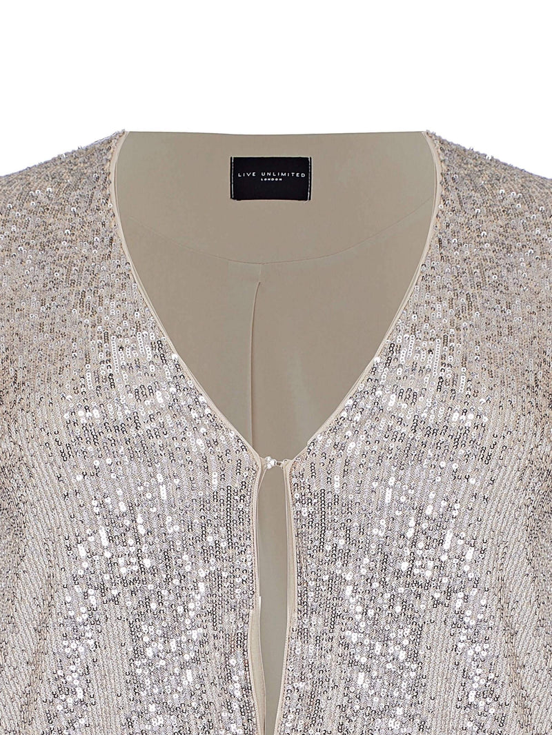 Sequin Jacket - Live Unlimited London