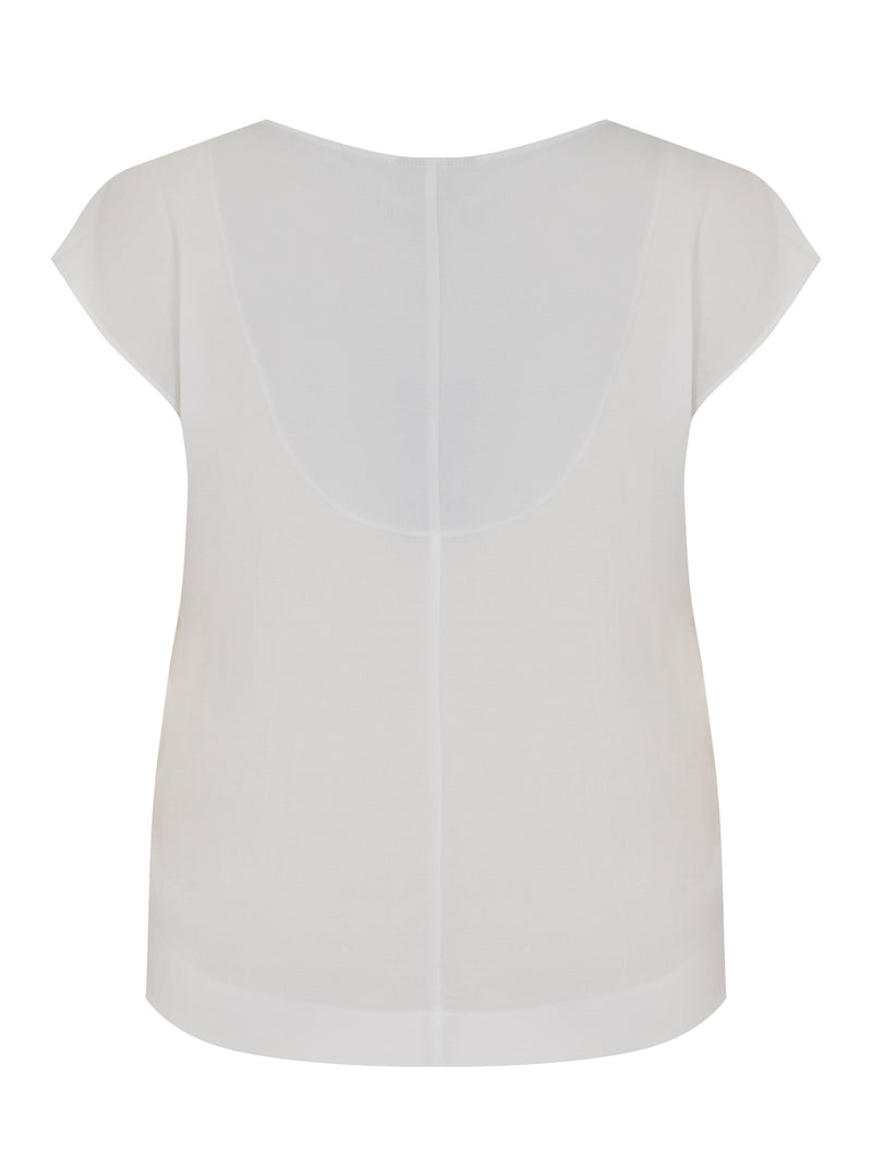 Pleat Front Blouse