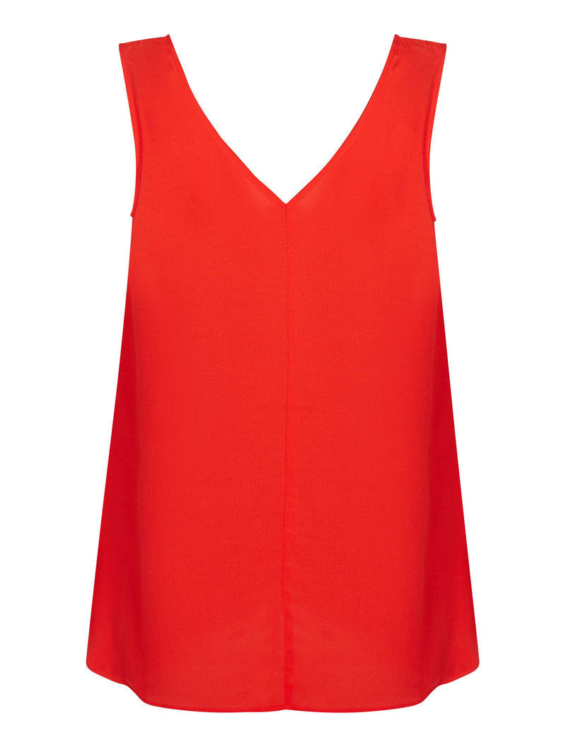 Camisole Vest with Neckline Detail - Live Unlimited London