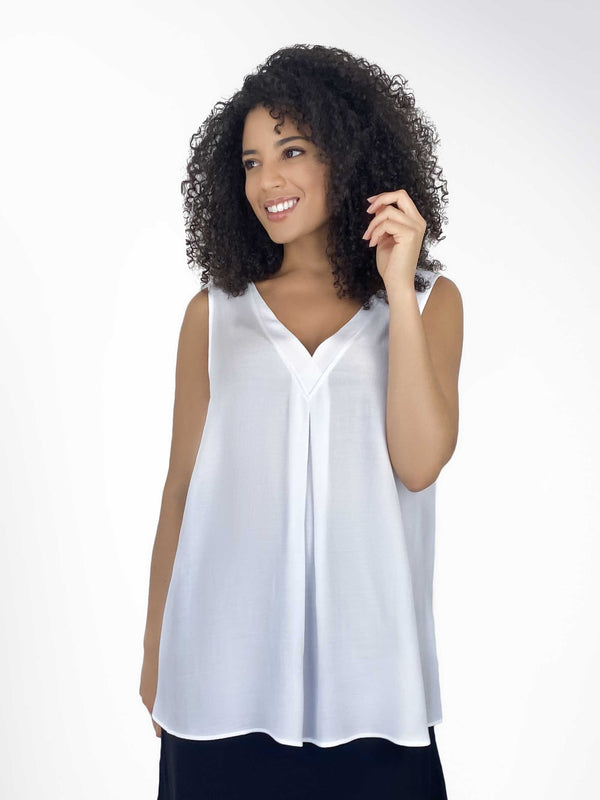 Camisole Vest with Neckline Detail