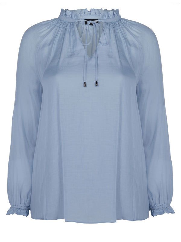 Tie Neck Detail Blouse