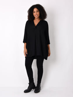 Viscose Mix Longline Shirt