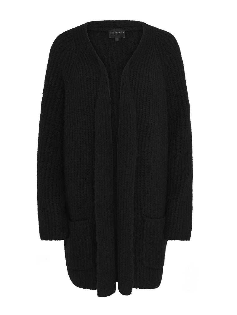 Longline Cardigan - Live Unlimited London