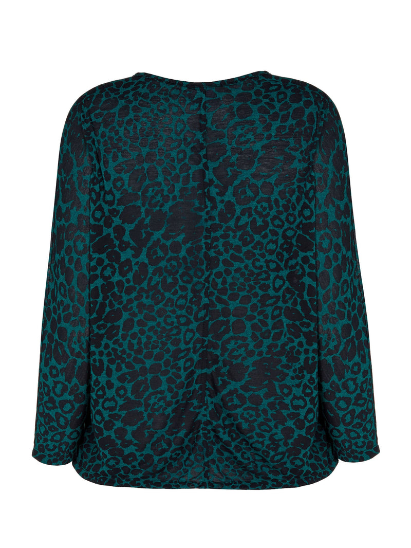 Animal Burnout Jersey Top