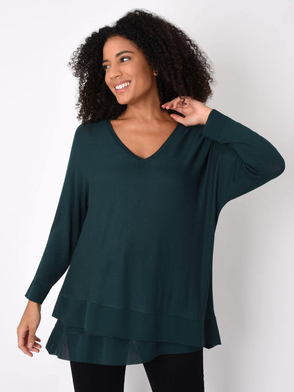 Asymmetric Double Layer Top