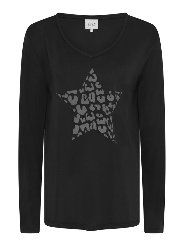 Animal Star Long Sleeve Tee