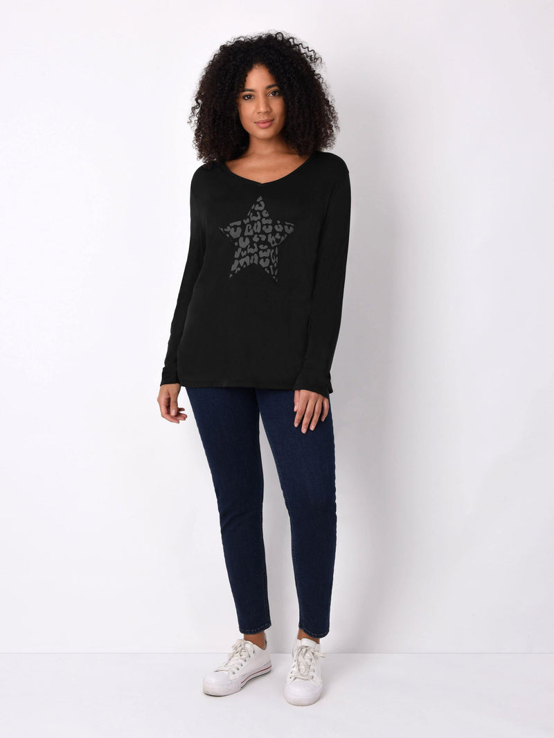 Animal Star Long Sleeve Tee - Live Unlimited London