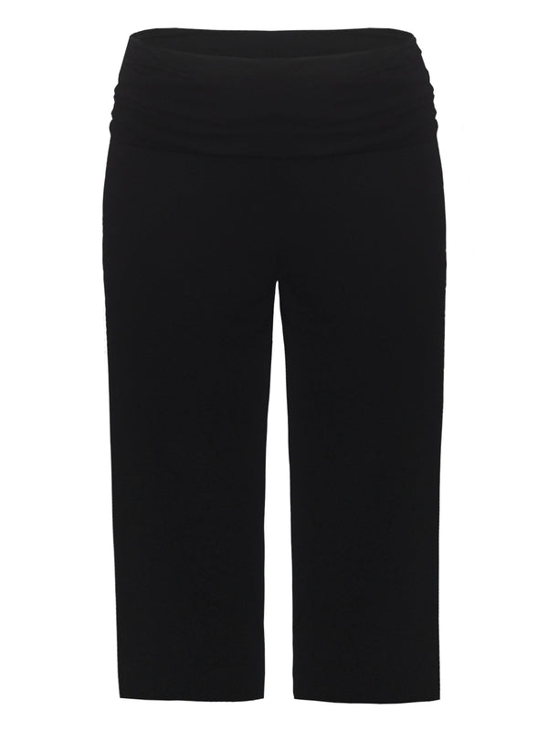 Jersey Relaxed Cropped Trousers