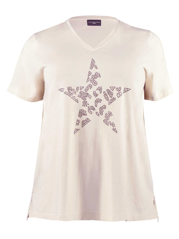 Studded Star Organic Cotton T-Shirt
