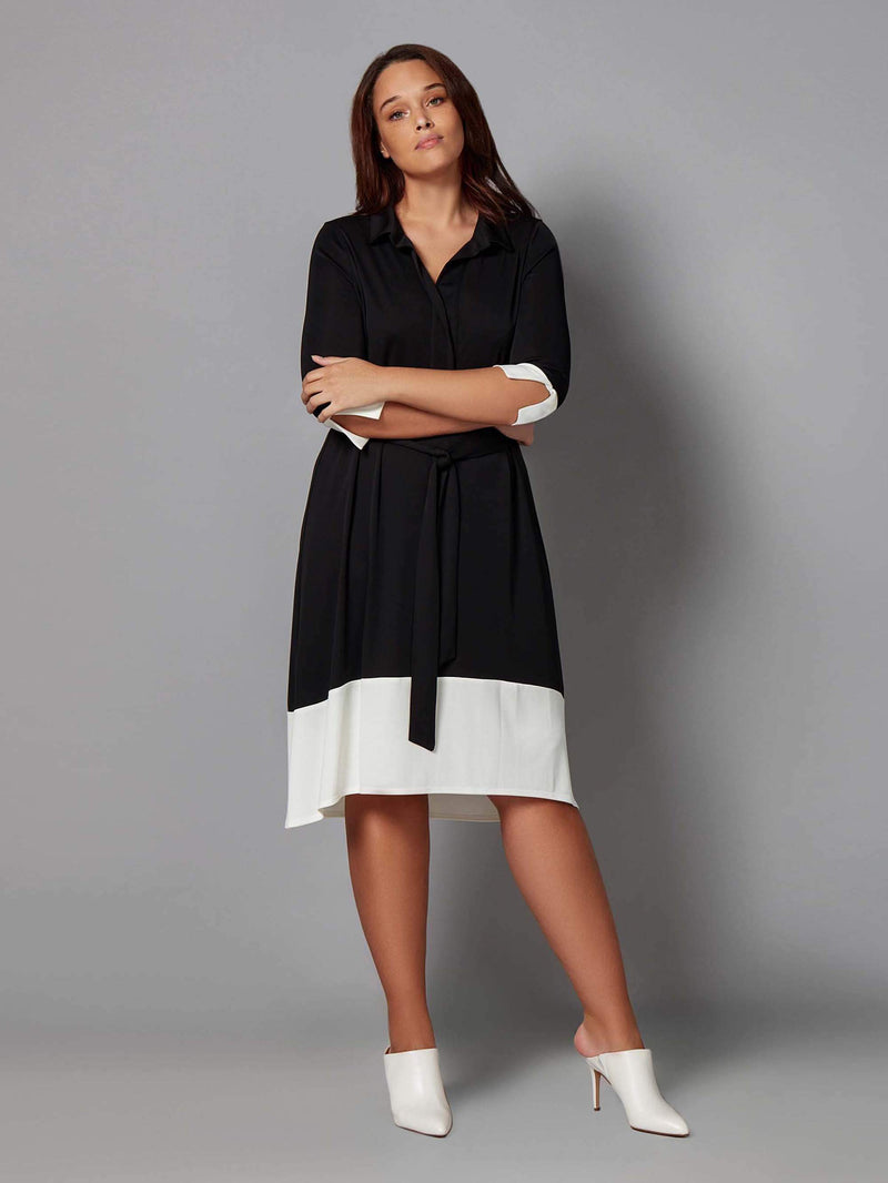 French Crepe Dress