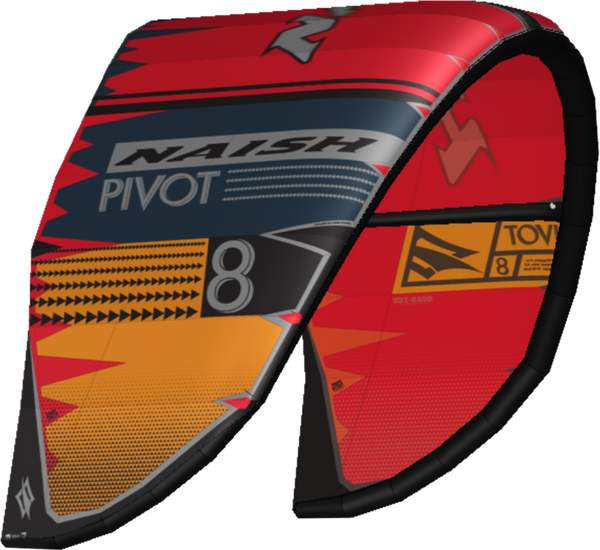 2020 Naish Pivot (Grey/Orange/Red)