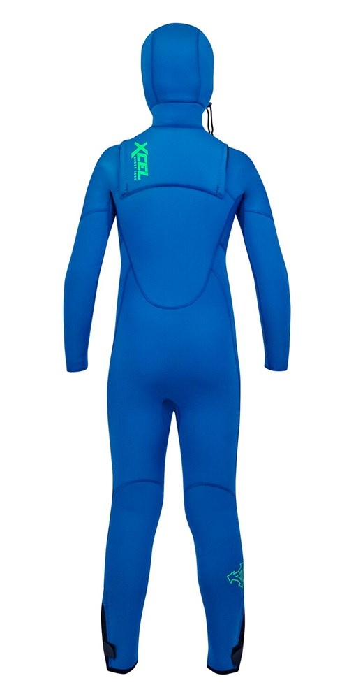 Xcel Youth Comp Hooded Fullsuit 4.5/3.5