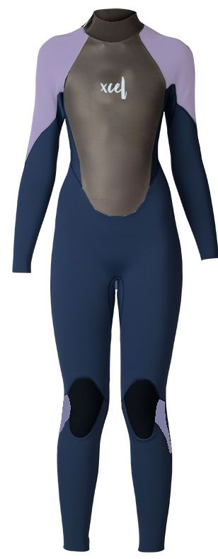Xcel Youth Axis Back Zip Fullsuit 4/3