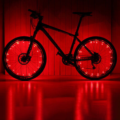 LED Bike Wheel Lights with Batteries Included (1 Tire Pack)
