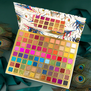 2020 Peacock Feather 88pcs EyeShadow Palette