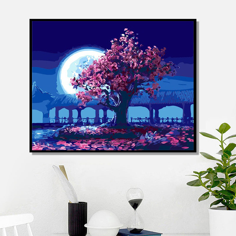 SIMPLE DIY DIGITAL OIL PAINTING
