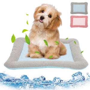 Cooling Summer Pad Mat For Pets, Blanket Sofa Breathable Pet Dog Bed