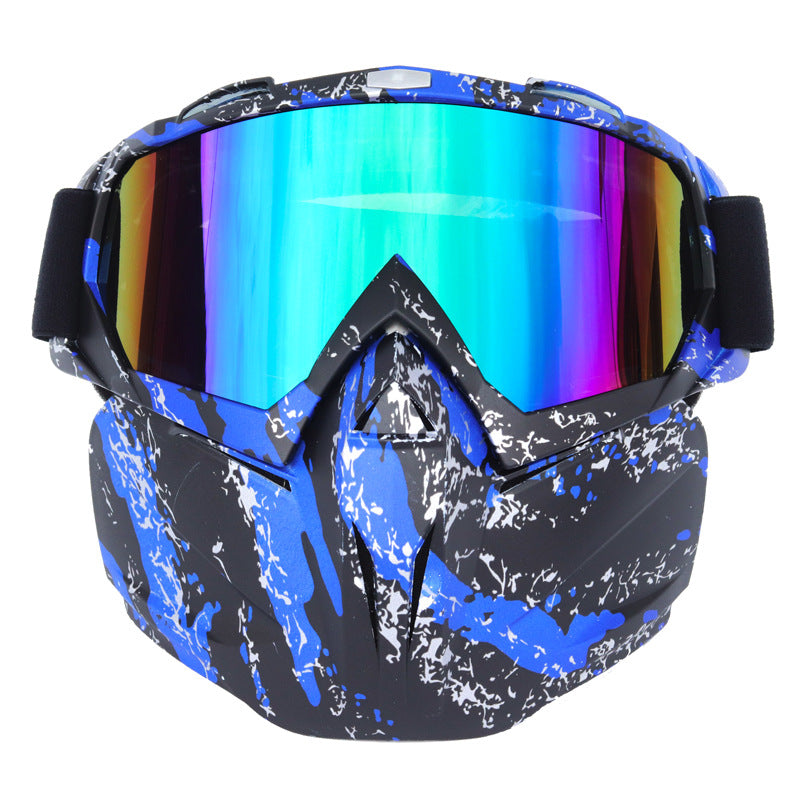 Harley Retro Helmet Goggles Motocross Mask Goggles Outdoor—BUY 2 FREE SHIPPING