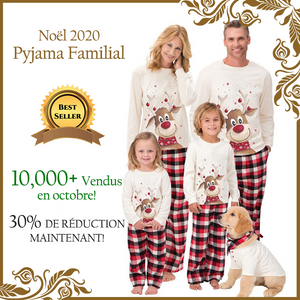 2020 Family Christmas Pajamas - Elk