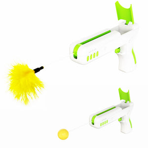 Pet Interactive Cat Toy Gun
