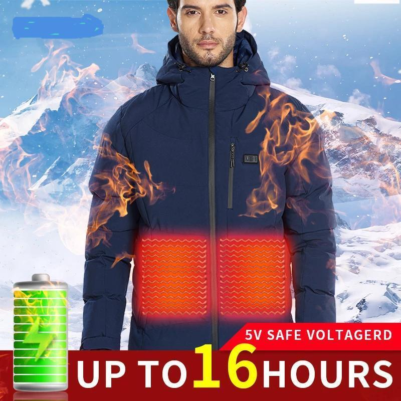 Heated Jacket with Hood