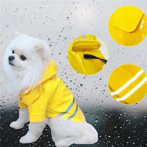 Outdoor Puppy Pet Rain Coat