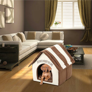Stylish Dog House Portable Indoor Pet